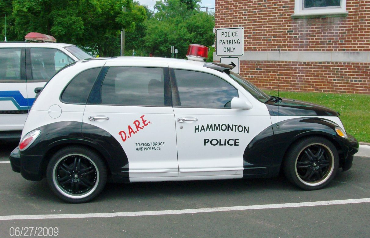 Hammonton NJ DARE PT Cruiser