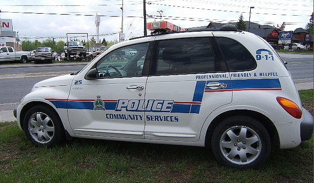 Peterborough-Lakefield, Ontario, Canada, Law Enforcement PT Cruiser