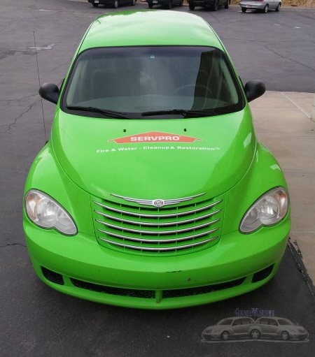 SERVPRO Bountiful, Utah, PT Cruiser