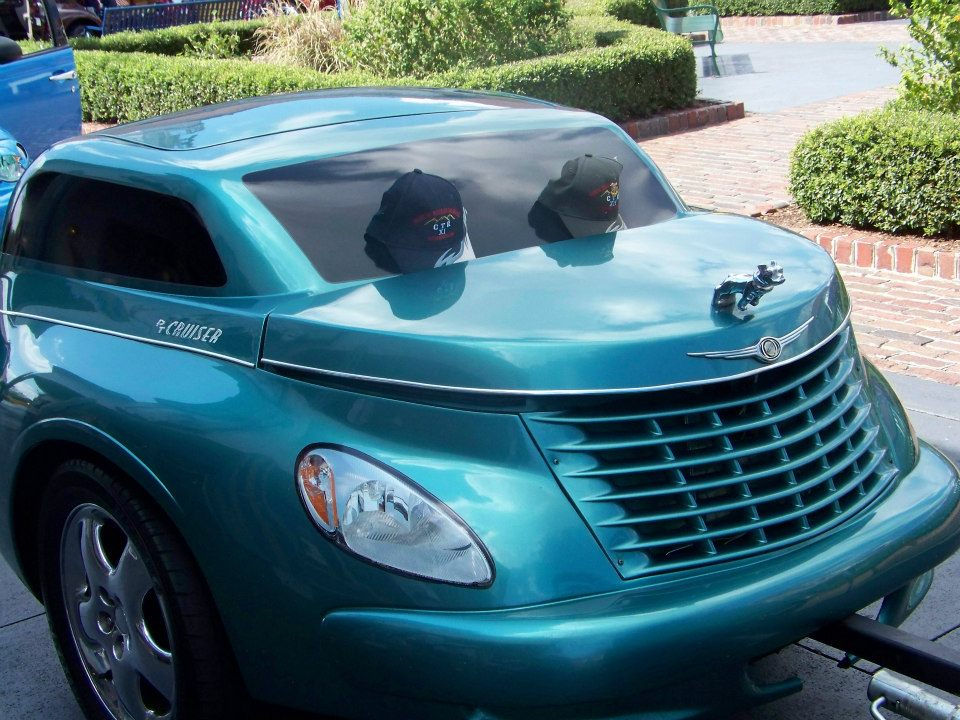 PT Cruiser Trailer with matching PT Cruiser