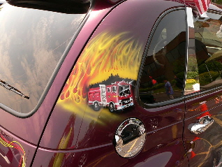 Butch and Anna Foley's 911 Tribute PT Cruiser New York