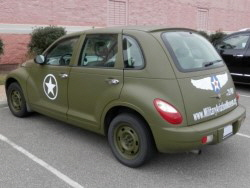 Military Aviation Museum - Army PT Cruiser