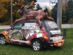 Country Smoke House PT Cruiser ~ Almont, Michigan