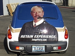 Re-Elect Judge Perry PT Cruiser ~ ADD LOCATION
