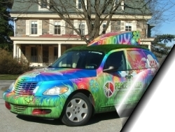 Peace A Pizza PT Cruiser ~ Eastern U.S. Locations