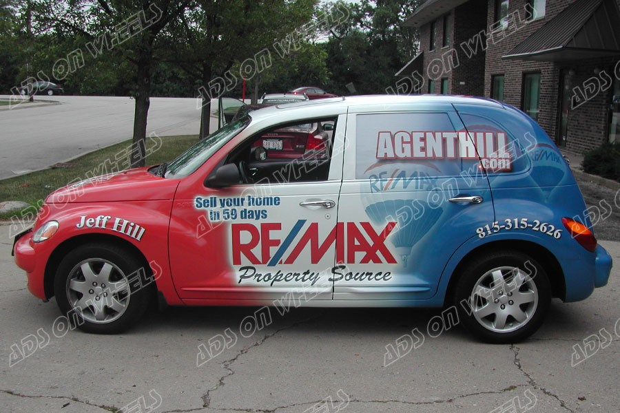Show My Business On My Pt Cruiser Ads On Wheels Wraps